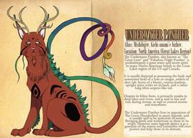 MYTHOLOGY SET - Underwater Panther by Dezfezable