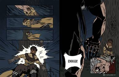 Bloodborne | AU Comic pt 04 by Dezfezable