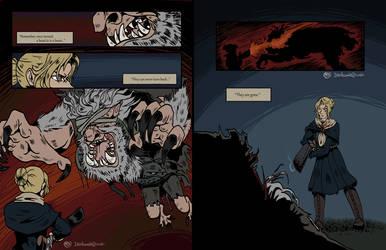 Bloodborne | AU Comic pt 06 by Dezfezable