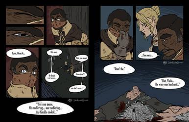 Bloodborne | AU Comic pt 07 by Dezfezable