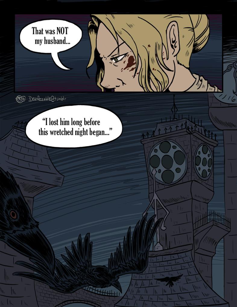 Bloodborne | AU Comic pt 08 by Dezfezable