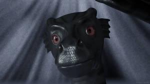 [2/3] Dragon head closeup