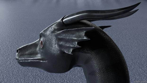 [3/3] Dragon head closeup