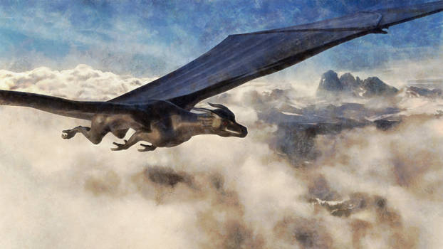 Dragon Flying
