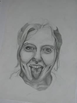 Pierced portrait progression
