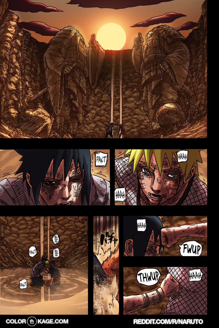 Naruto 697 - From Sunrise Till Sunset by Desorienter
