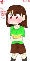 Chara with big B's (request from SuperUndertale)