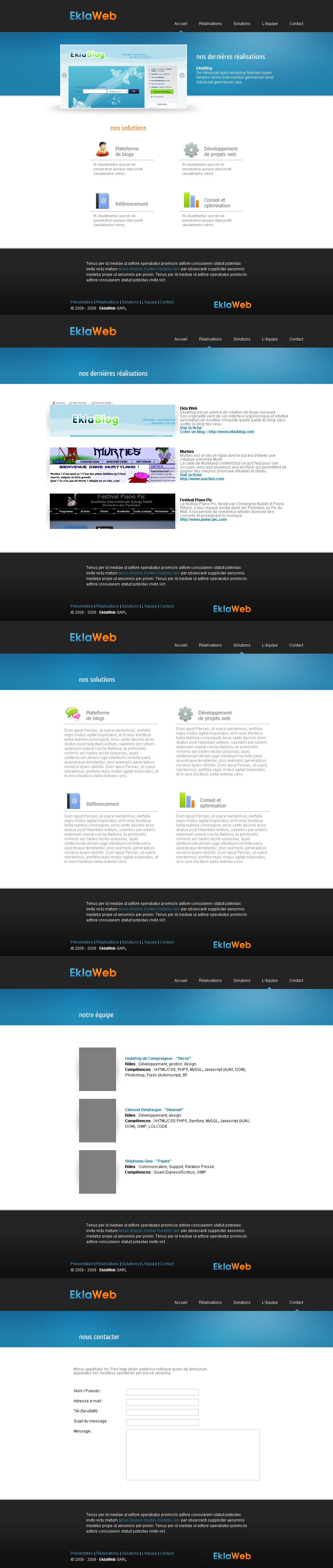 Ekla Web by Bloomy021