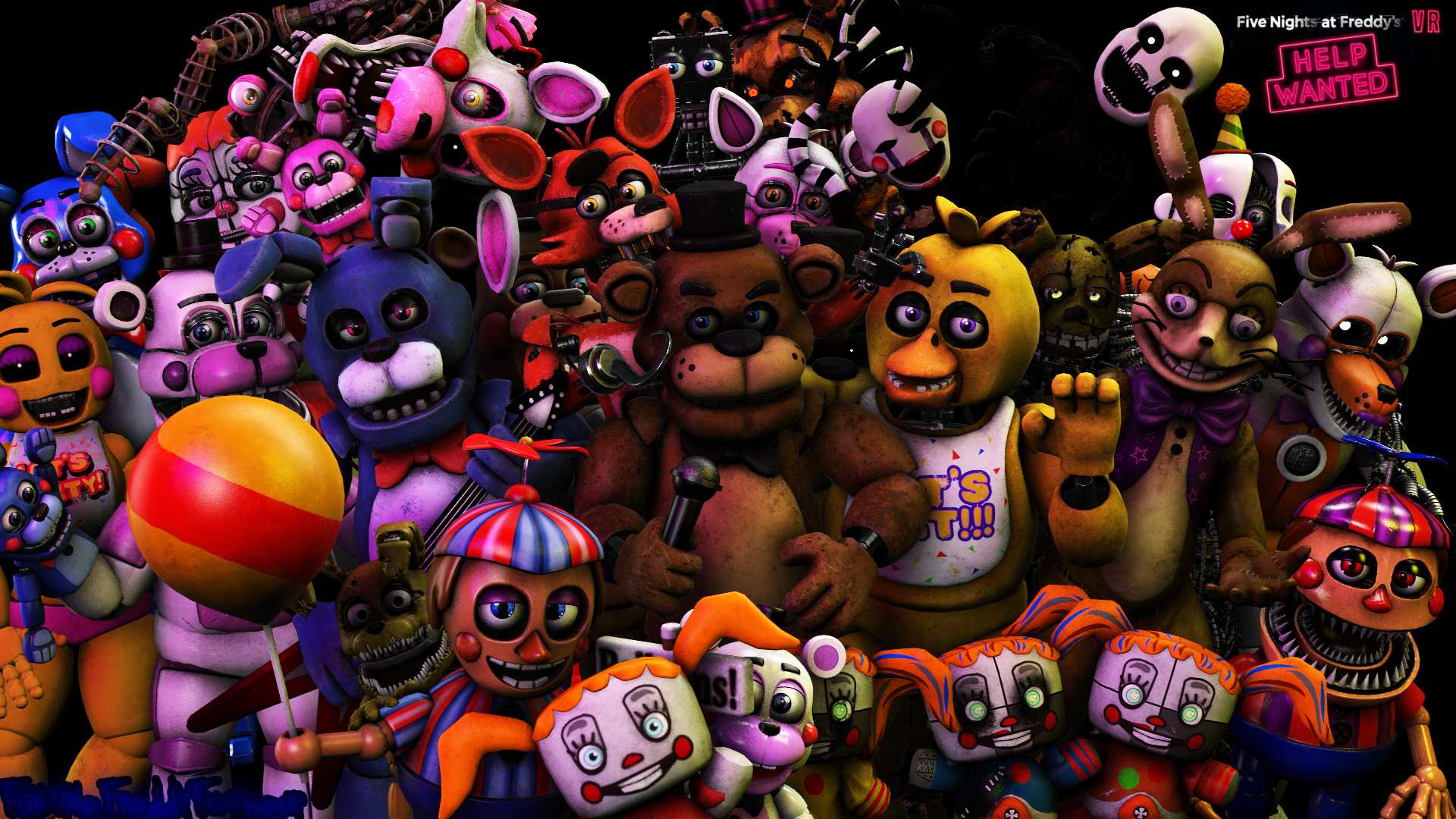 FNaF VR Models that has been ripped so far by
