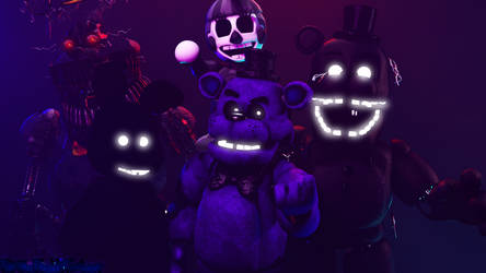 Shadow Animatronics V2 by FuntimeFreddyFazbear