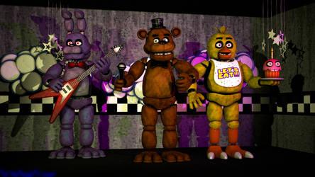 The Stage by FuntimeFreddyFazbear