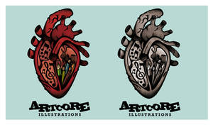 New Artcore Logo by artcoreillustrations