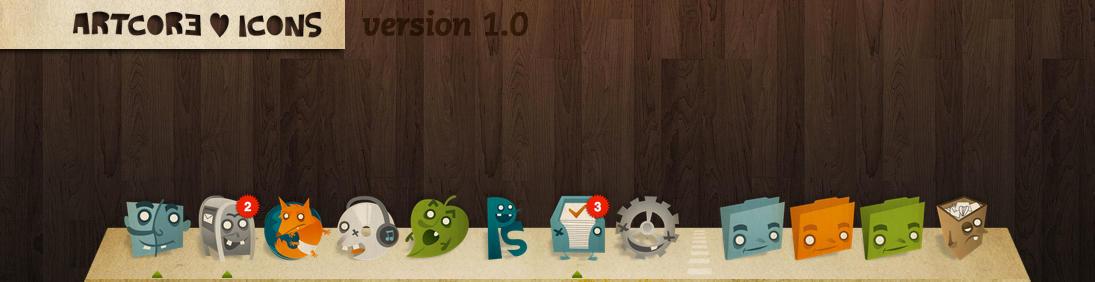 Artcore Icons v1.0