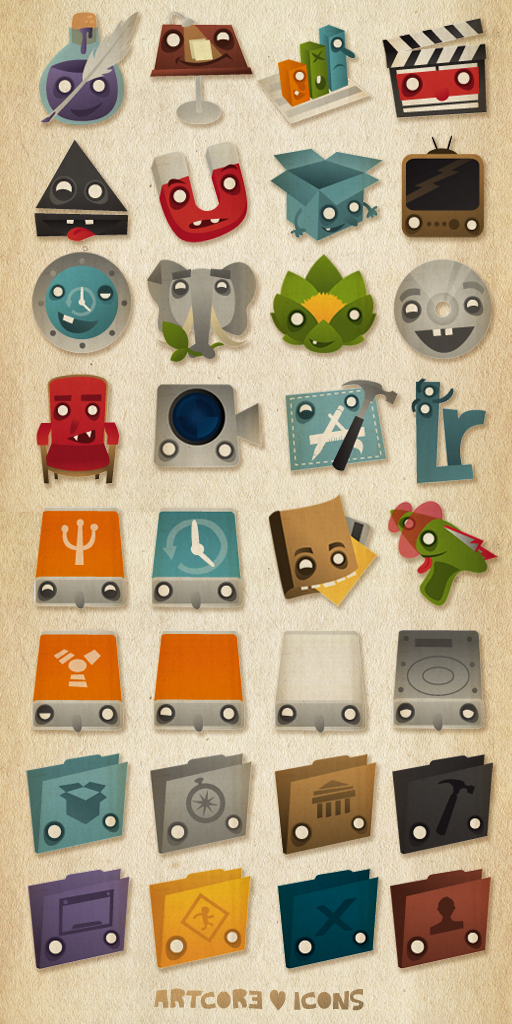 Artcore Icons Nr. 5 by artcoreillustrations