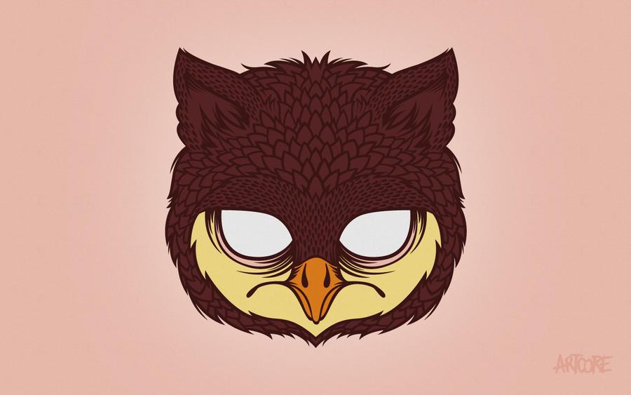 Owl Wallpaper By Artcoreillustrations