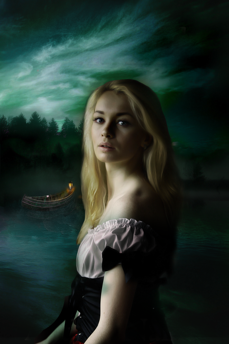Light on the River - Book Cover by RaineTenerelli