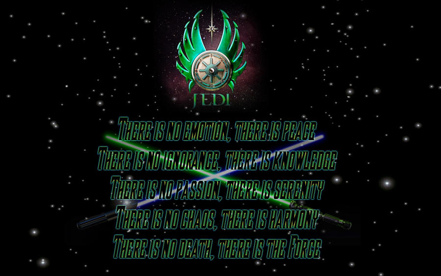 Jedi Code Wallpaper by Vires-Ultio on DeviantArt