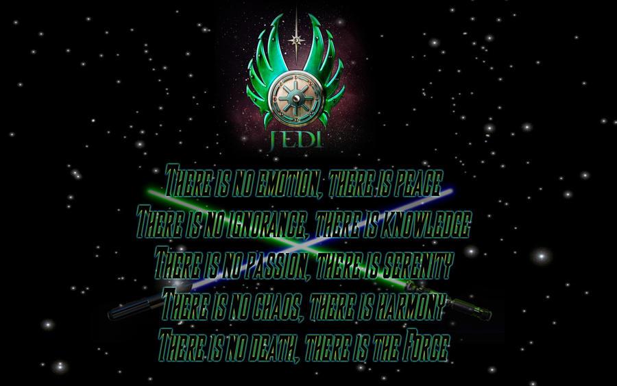 Sith And Jedi C... Jedi Code Wallpaper