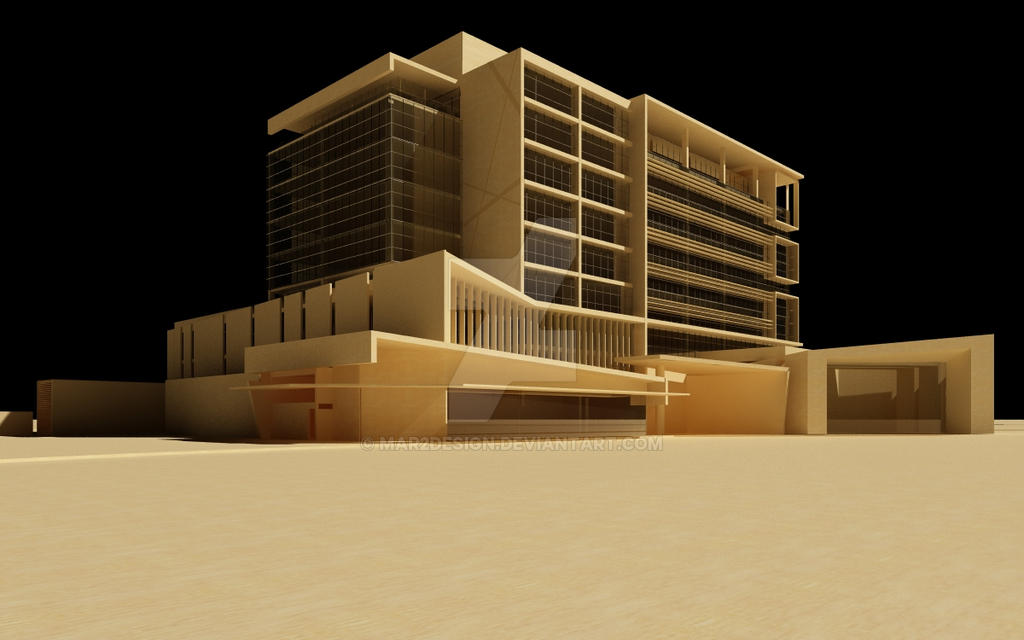 Architecture model 1 by mar2design on deviantart for Architecture by design