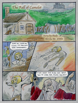 The Fall of Camelot, page 1
