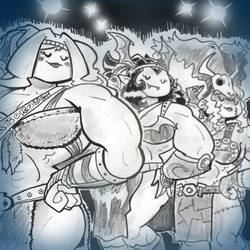 Epilogue - Barbarian Beauties by Mr-DNA