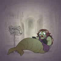 Angela's Magic Lesson - Walmaid? by Mr-DNA