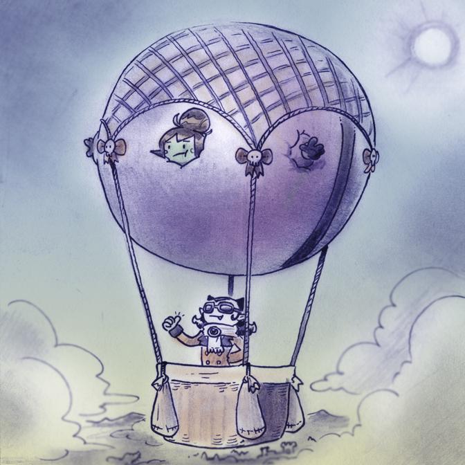 Epilogue - Balloon Trip by Mr-DNA