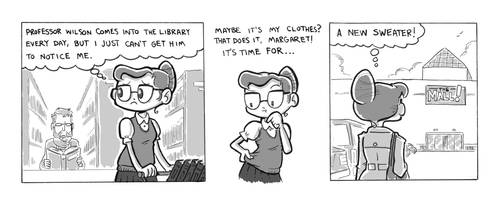The Librarian's New Sweater, p1