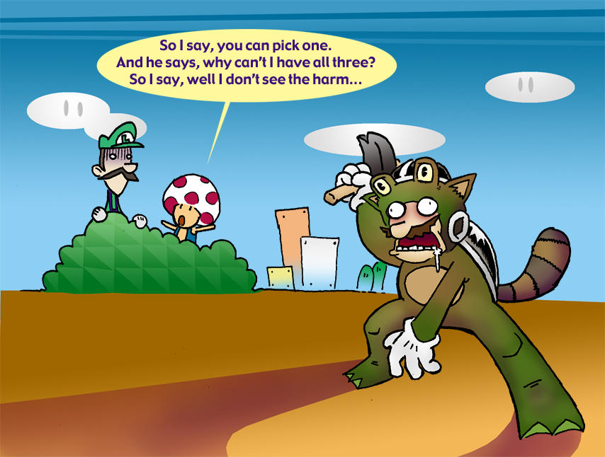 [Image: SMB3__Suit_Frenzy_by_Mr_DNA.jpg]