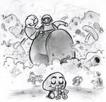 Mega Mario Menaces Millions