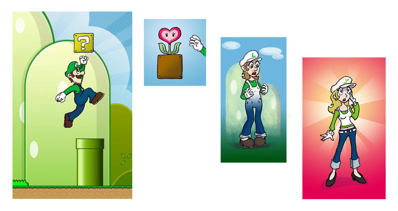 Go TG Luigi by Mr-DNA