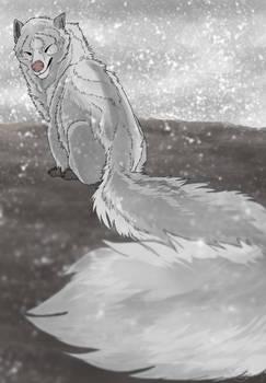 tis a happy lil skunk