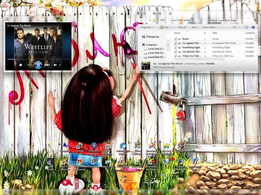 My Desktop by jackroono