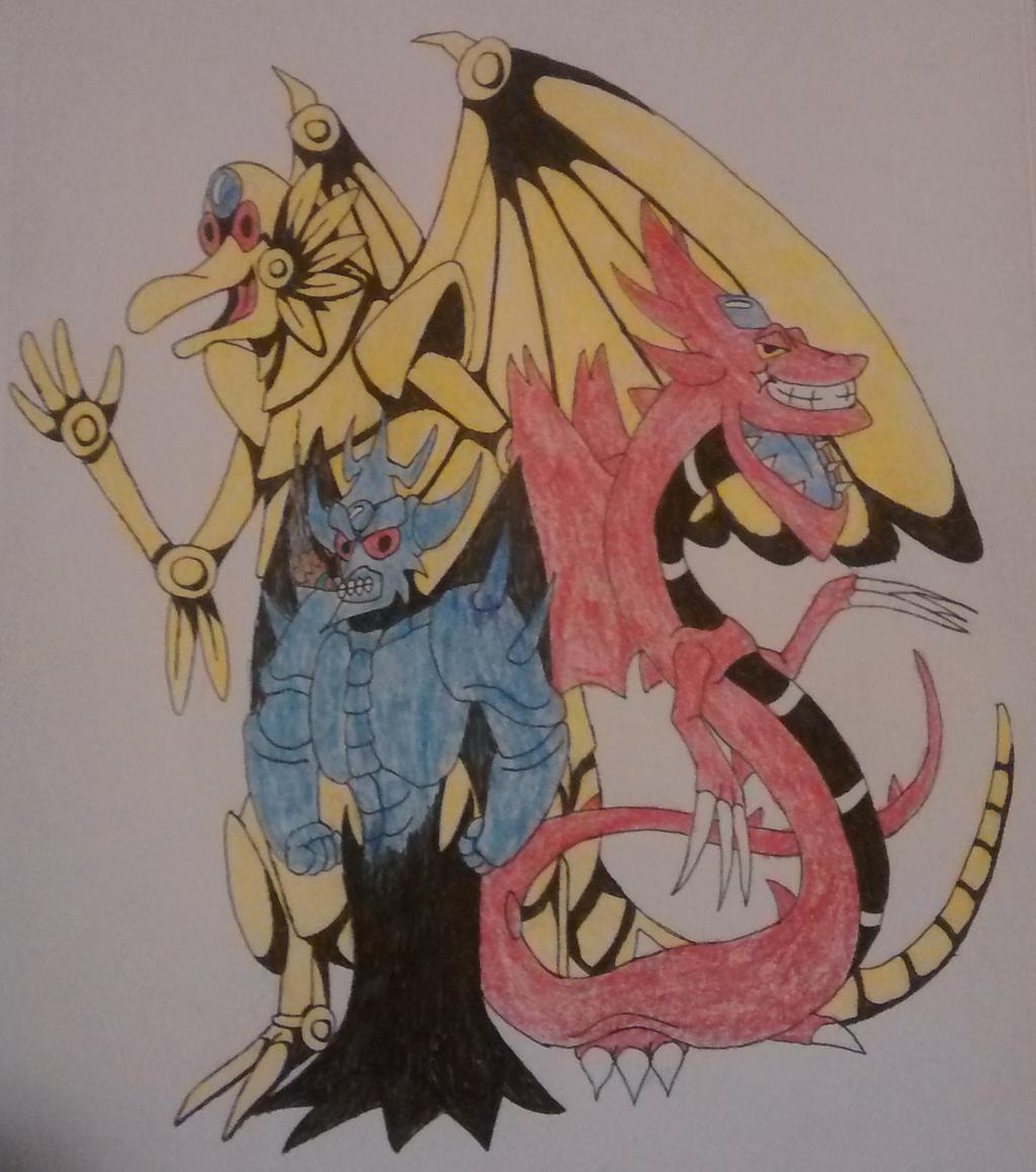 toon egyptian god monsters by hyperaggron on deviantart