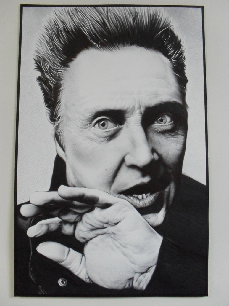 Christopher Walken Ballpoint by starr2099