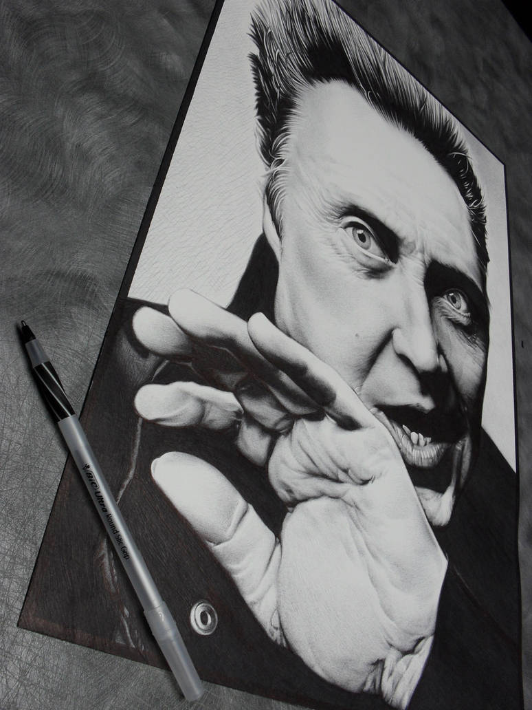Christopher Walken Ballpoint2