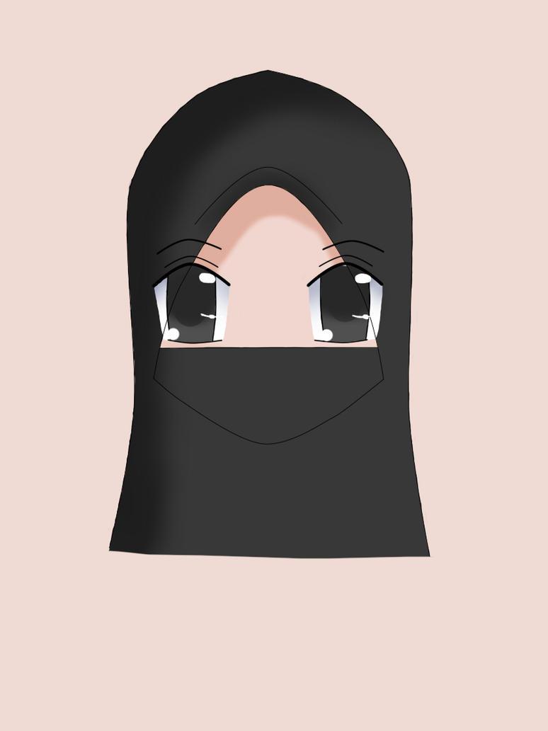 muslimah purdah by Far-Honey95-Deidara