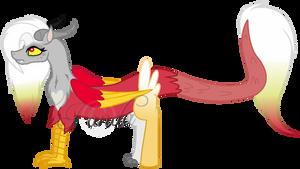 Phoenix the Draconequus