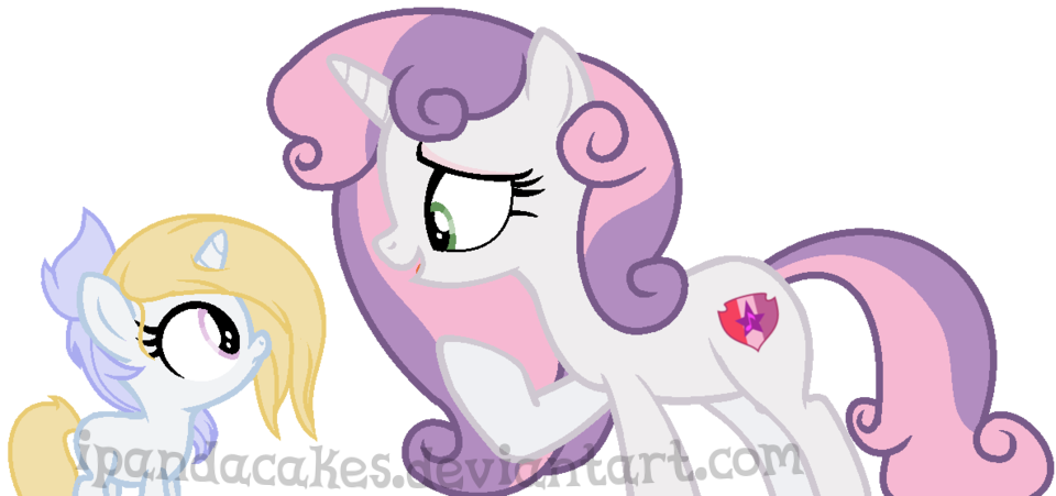 Great Auntie Sweetie Belle by iPandacakes on DeviantArt