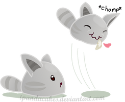 Slime Rancher - Tabby Slimes by iPandacakes