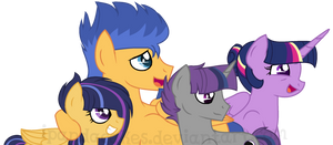 The FlashLight Family by iPandacakes
