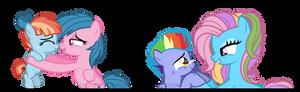 Headcanon: Rainbow's Grandmares