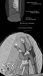 Rob and Figaro: Page 1 by PowerOfSin