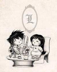 Sweet Tea Time by ShamiART