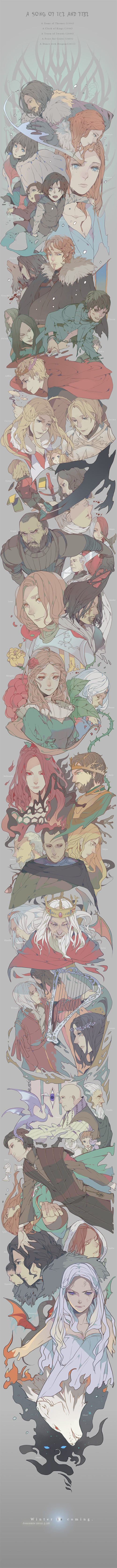 A Song of Ice and Fire by Wavesheep