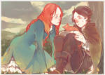 Little Catelyn and Little Petyr