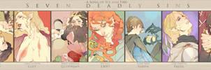 [ASOIAF]seven deadly sins