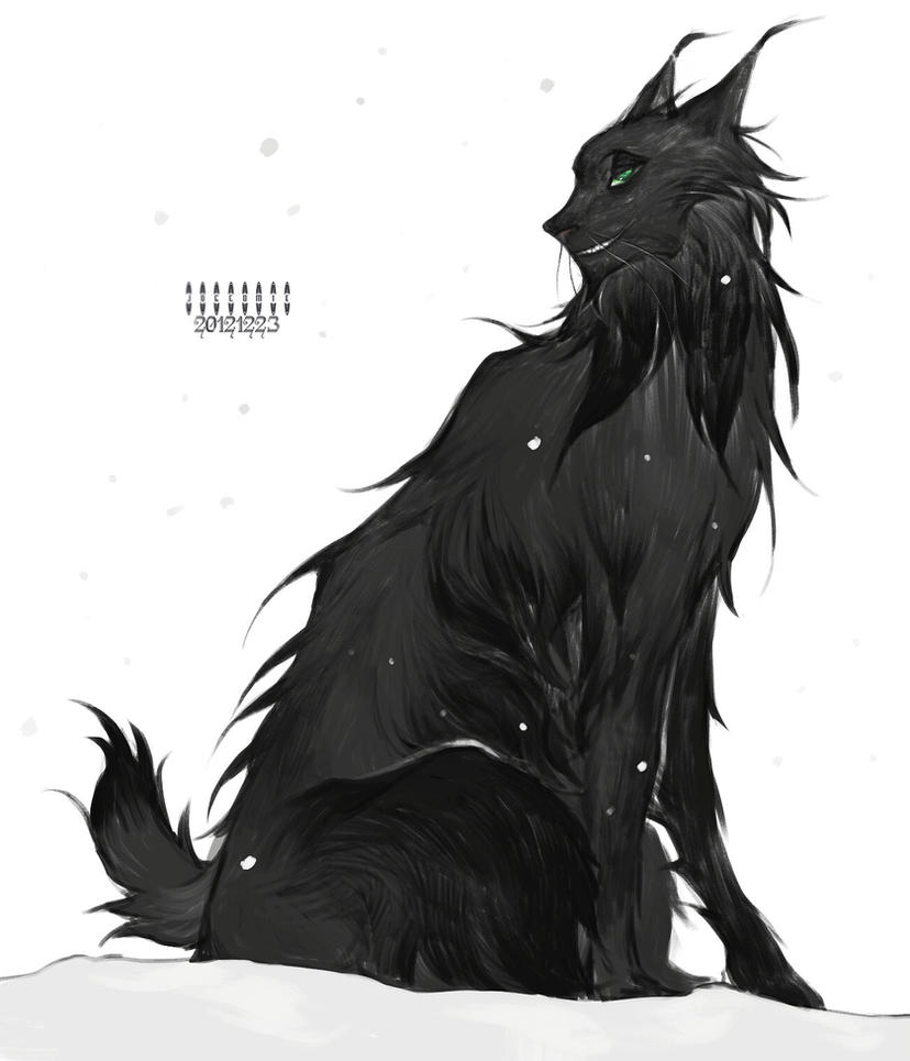 Black lynx by Wavesheep