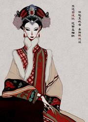 Zhen Huan (Xi gui fei) by Wavesheep