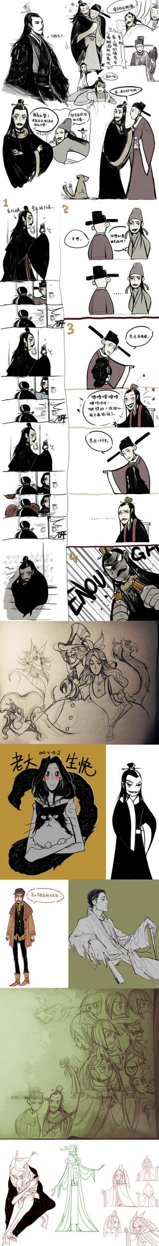 Sketchdump 4 by Wavesheep